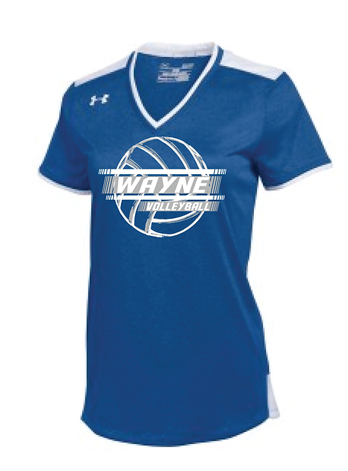 WAYNE VOLLEYBALL   UNDER ARMOUR SPORTY MESH TOP