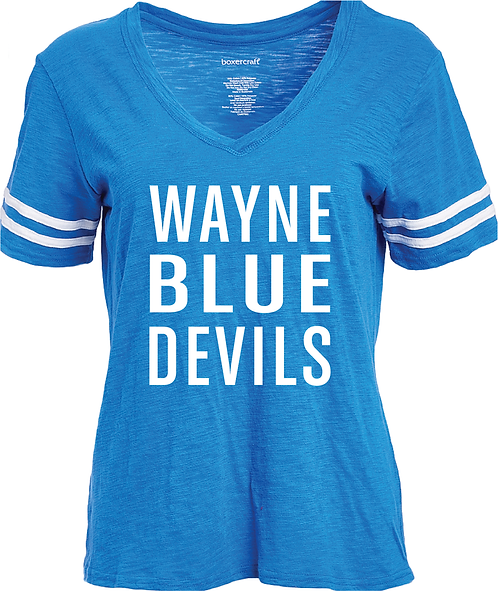 WAYNE HIGH | LADIES SPORTY SLUB TEE