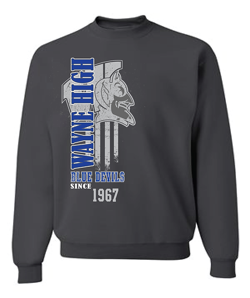 WAYNE HIGH | CREW SWEATSHIRT