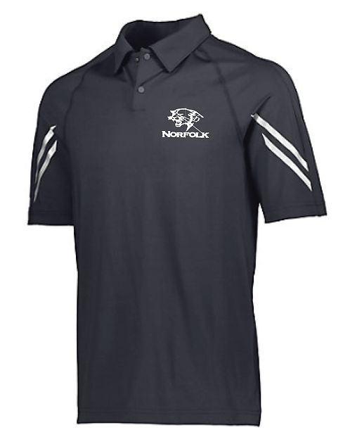 ADULT FLUX POLO | BLACK