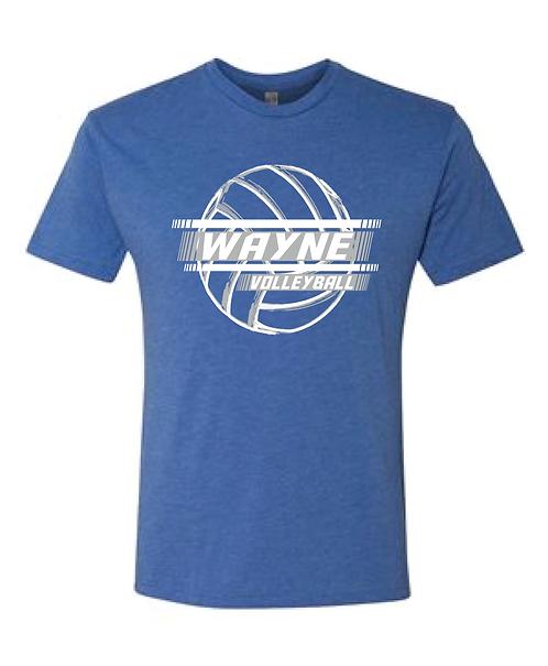 WAYNE VOLLEYBALL | SHORT SLEEVE TRIBLEND