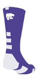 Item # 15 // Purple/White Socks
