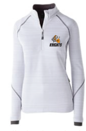 ITEM 12: LADIES WHITE 1/4 ZIP (SPECIAL ORDER ONLY)