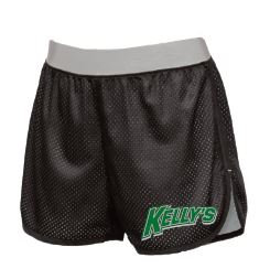 510 Women's Double Mesh Short // black/silver