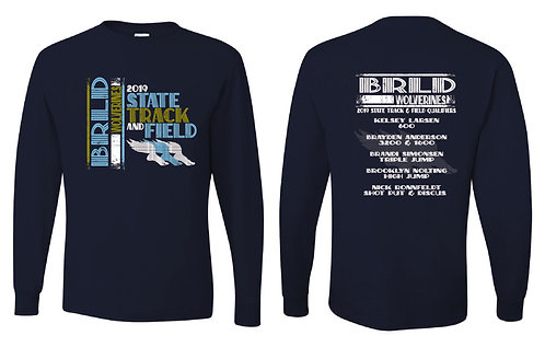 BRLD TRACK | LONG SLEEVE TSHIRT