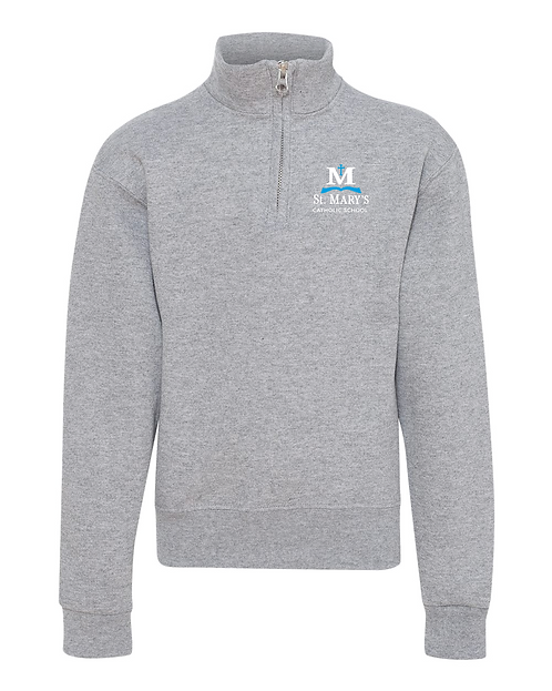 ST MARY'S | 1/4 ZIP PULLOVER