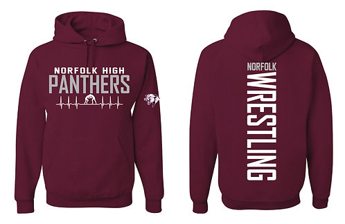 Norfolk Wrestling | Hooded Sweatshirt