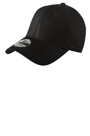 NE1000 Black Structured  Stretch Cotton Cap