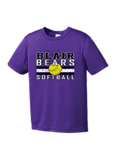Item 17: Youth Short Sleeve Dri-Fit | Purple