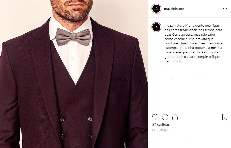 Brand persona da Mazzini em prática