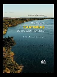 """Capa do livro """"Flora das Caatingas do Rio de Janeiro"""""""