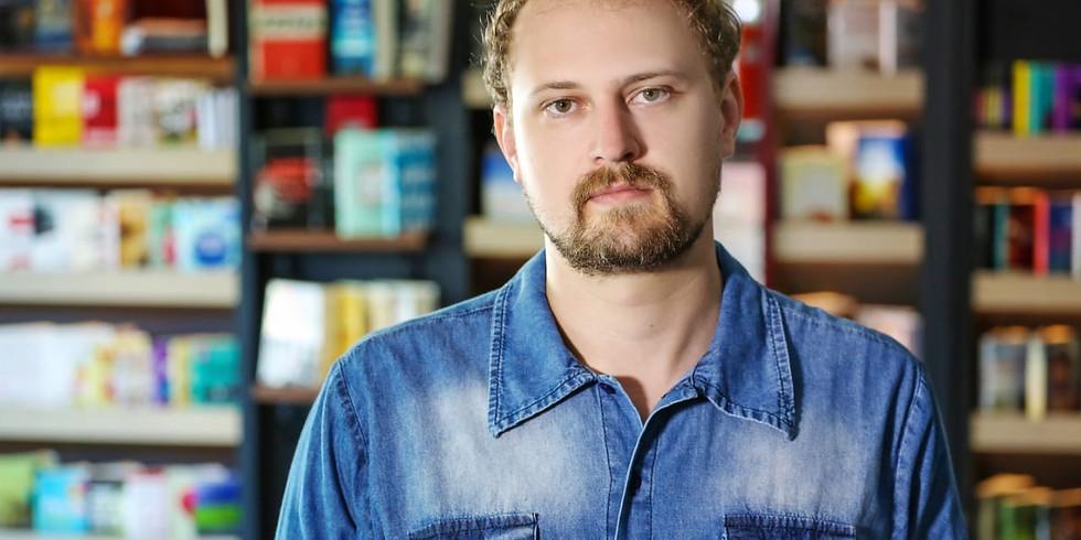 Conversa com Pablo Zorzi sobre o livro  WOW! O primeiro contato