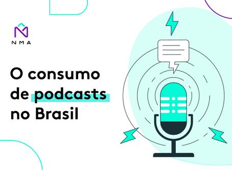 O consumo de podcasts no Brasil
