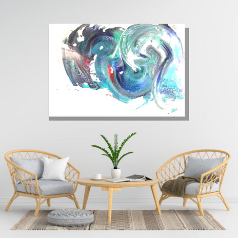 Custom Color Abstract