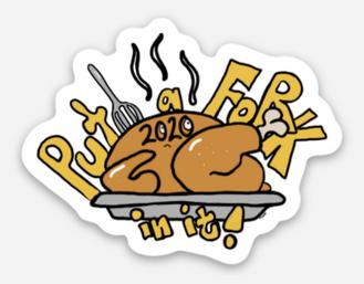 November 2020 Sticker