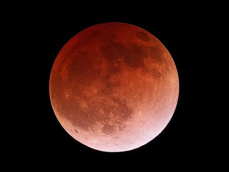 LUNARNA EKLIPSA Pun Mesec u Blizancima