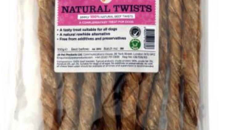 Natural twists (100g)