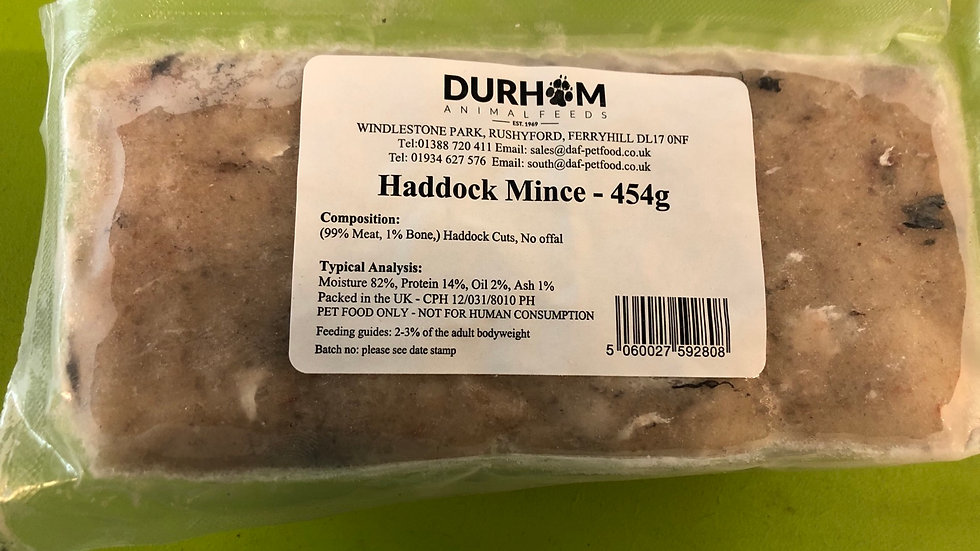 Haddock mince (454g)