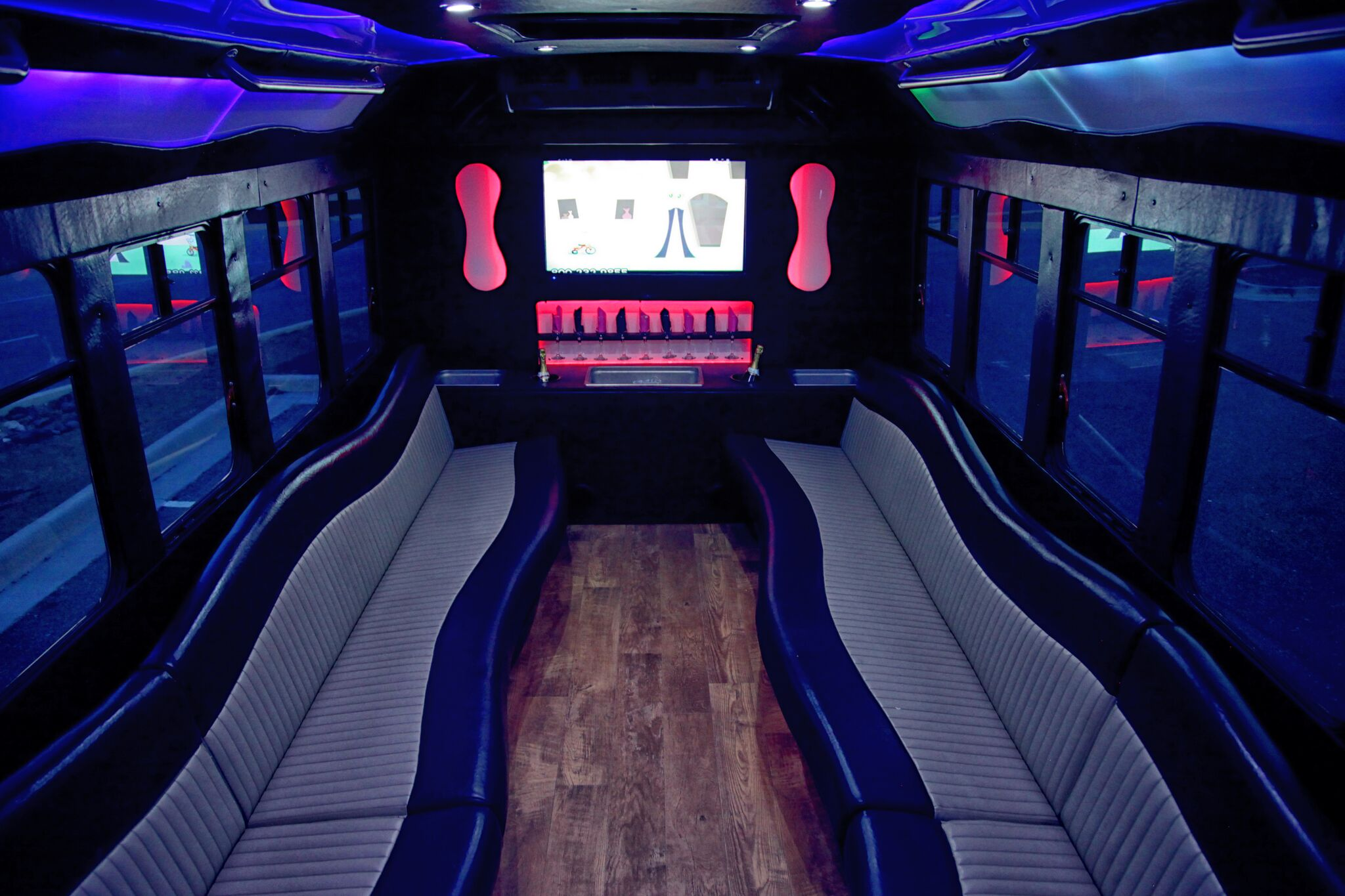 20 capacity interior