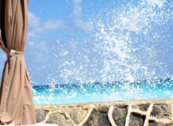 Crashing Surf in Cancun.