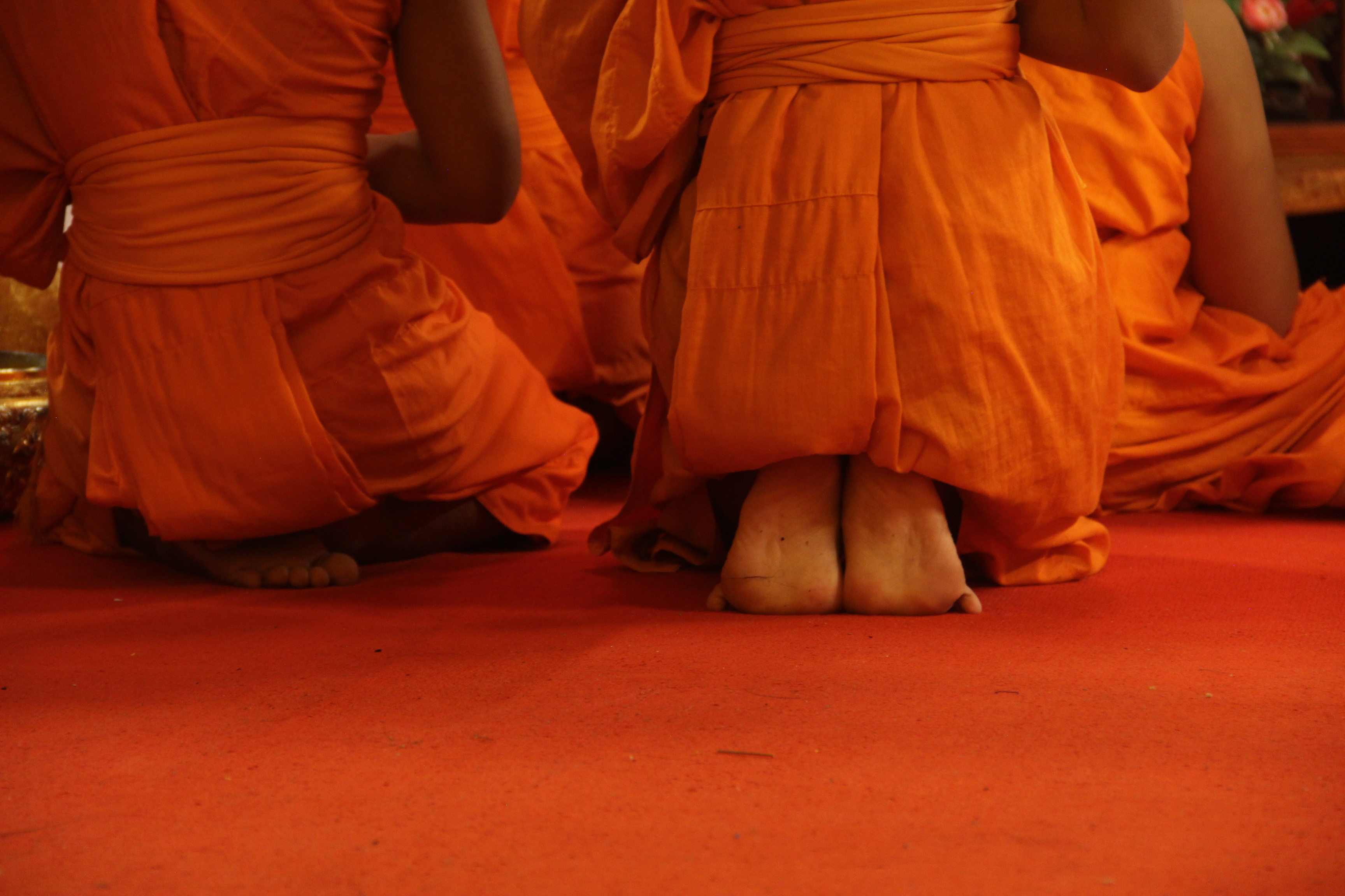Kneeling Monks
