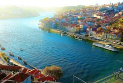 Duoro River at Porto.