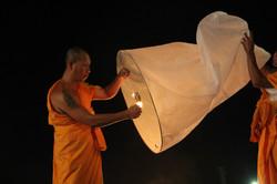 Monk lighting Lantern