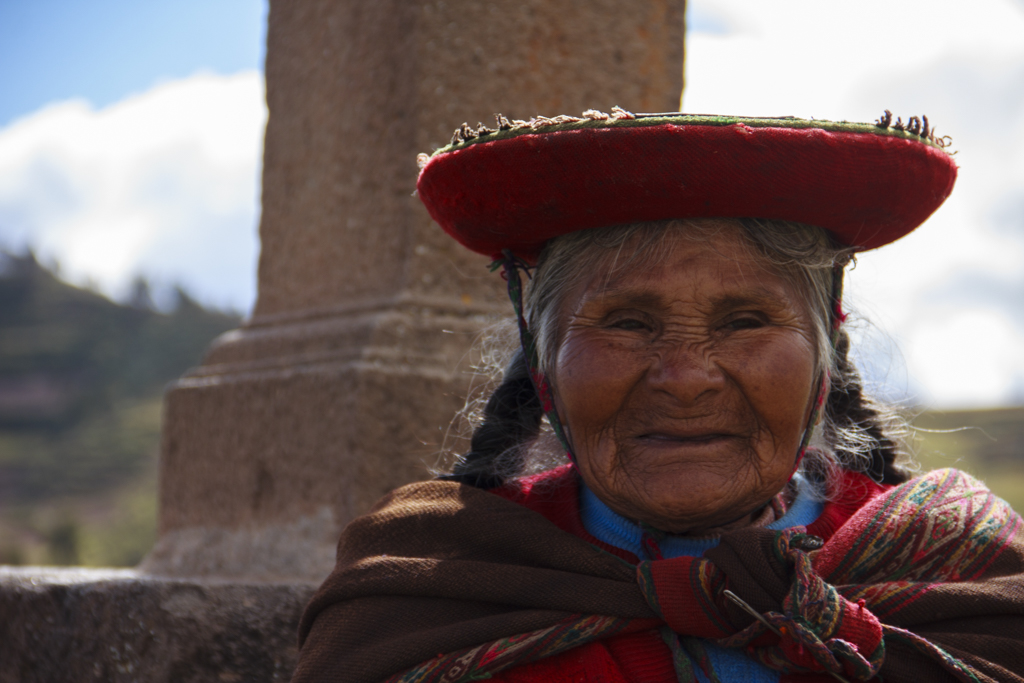 Native Incan Woman.