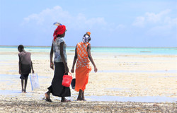 Local women of Zanzibar.