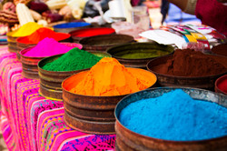 Natural pigments for paints and dyes