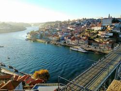 Porto on the Duoro River.