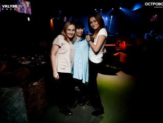 Праздник в Казани ночью