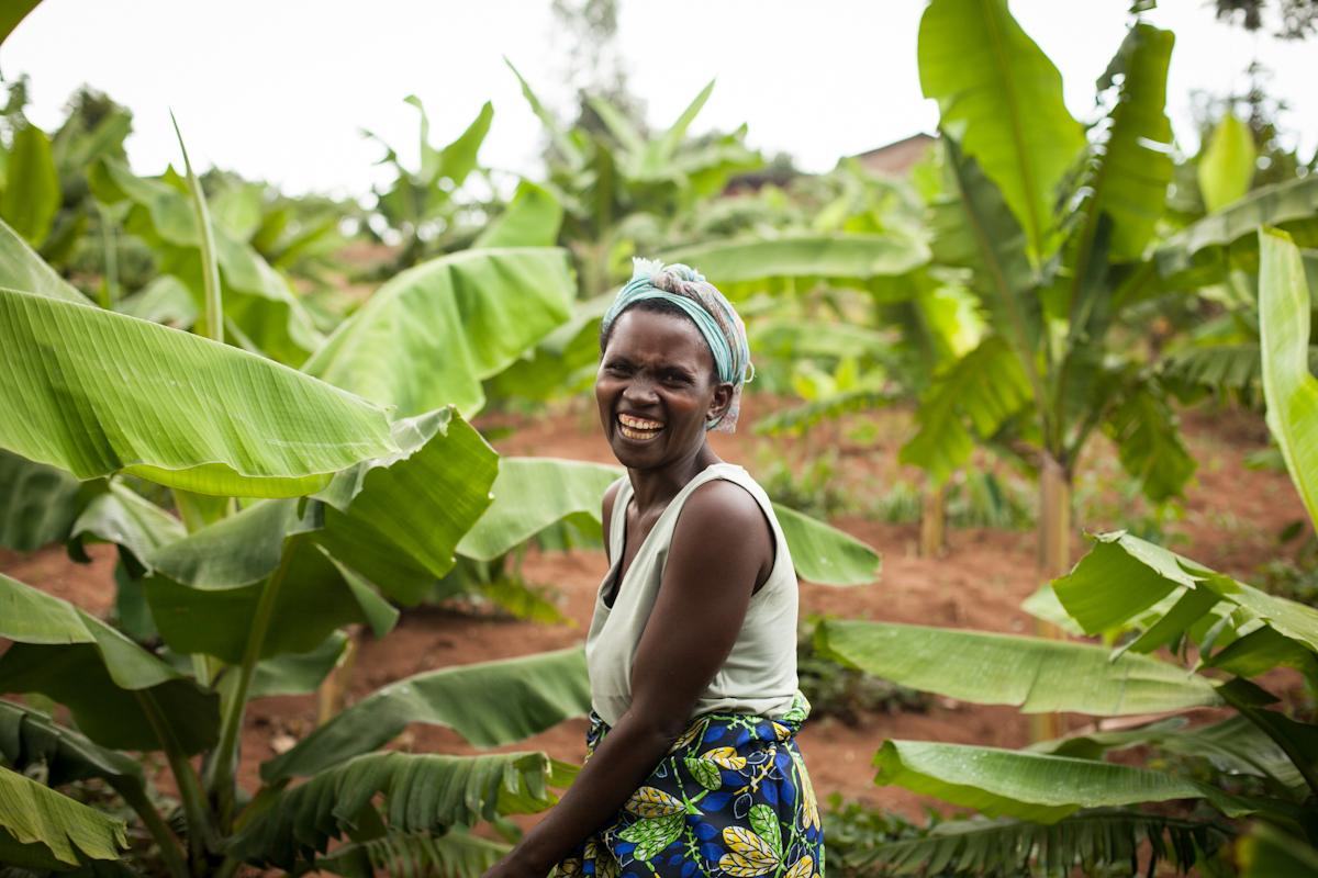 Rwanda woman