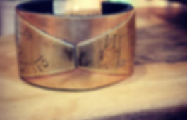 Bowtie cuff. Perfect for the holidays. A