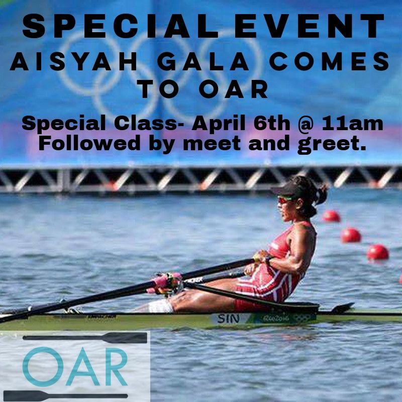 Indoor Rower Special Event, Oar Studio