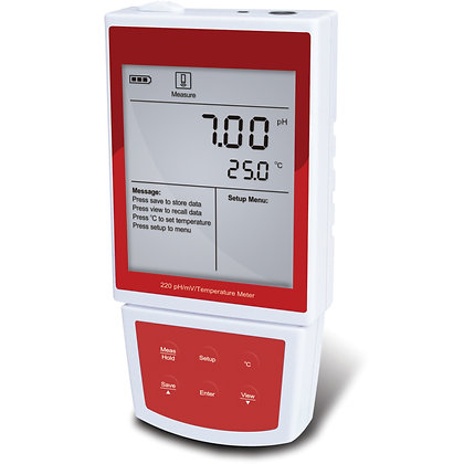 Portable pH/mV Meter PH-220