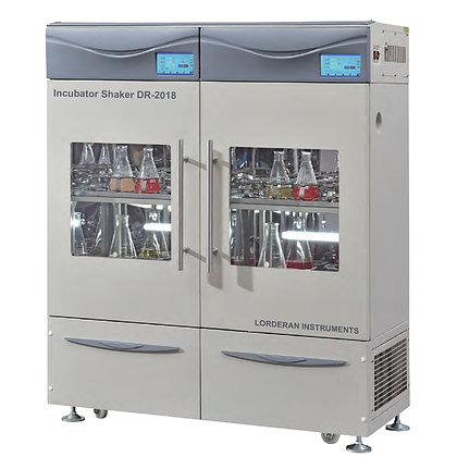 Two-tier Incubator Shaker (Double Row, Double Control)