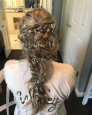 Love this Bridal Hair Style I created fo