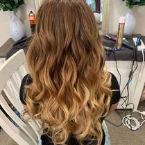 Gorgeous curls!  #bridesmaid #curls #hai