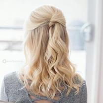 Gorgeous Half up Half down Hair Style fo