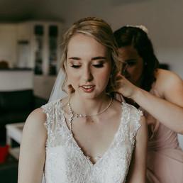 Loving these Bridal Tones! Hair and Make