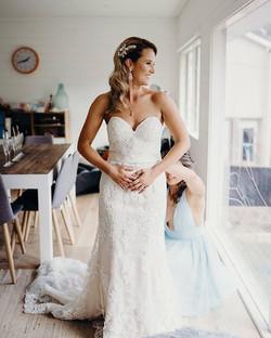 Beautiful Bride Eliza!  Hair @sammooneym