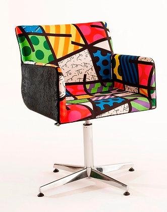 Cadeira Pinotage Cromada