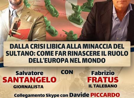 Dalla crisi Libica alla minaccia del Sultano: il convegno di Fabrizio Fratus a Castellafiume