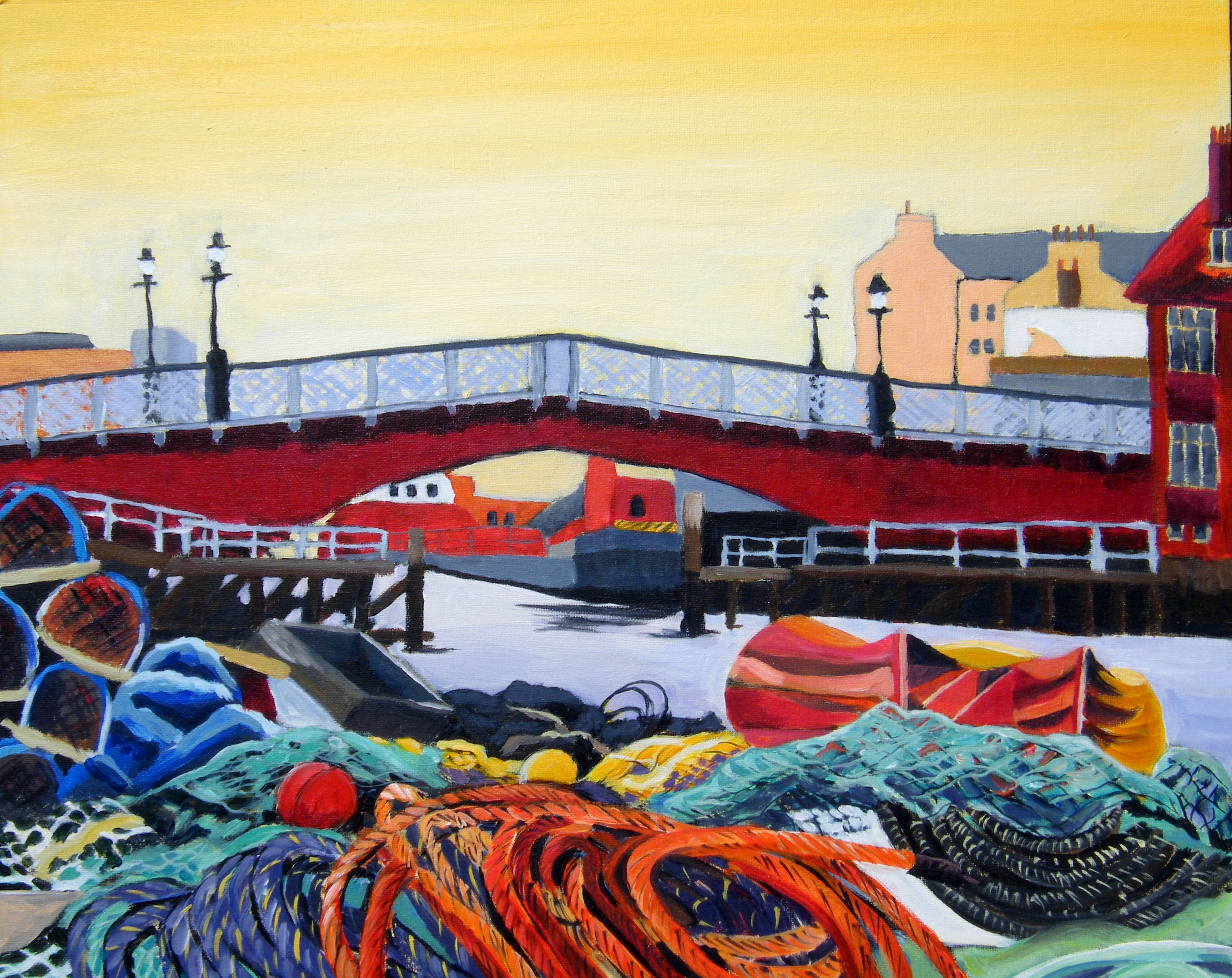 Sue Slack image 1_Whitby Swing Bridge