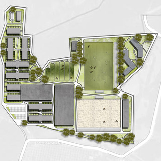 Equestrian Center  / Sketch Site Plan