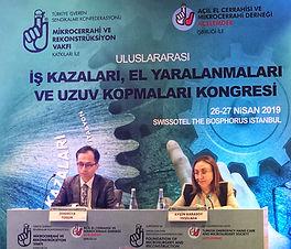 Vakfımızın organize ettiği I.Uluslararası iş kazaları, el yaralanmaları ve uzuv kopmaları kongresi 26 -27 Nisan 2019 tarihinde istanbul Swiss Hotel'de gerçekleştirildi.