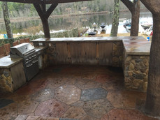 ClifRock Outdoor Kitchen