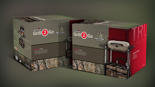 Char-Broil Realtree Packaging