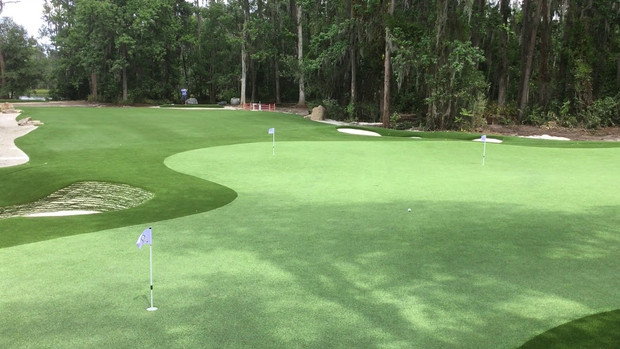 Entire Hole w/ Extended Fairway and Multiple Tee Boxes